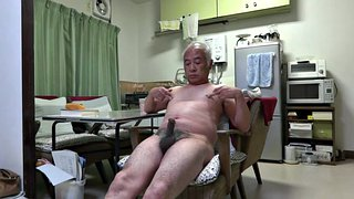 Handjob, Old man, Japanese granny, Japanese old man, Asian granny, Japanese old