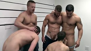 Anal orgy, Gay kissing, Athletic, Athlete, Sex hd, Gay group
